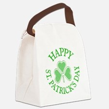 Shamrock St. Patrick's Day Canvas Lunch Bag