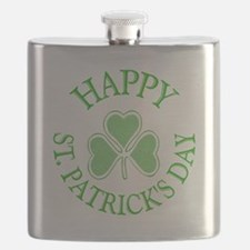 Shamrock St. Patrick's Day Flask