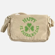 Shamrock St. Patrick's Day Messenger Bag