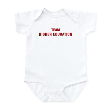 Team HIGHER EDUCATION Infant Bodysuit