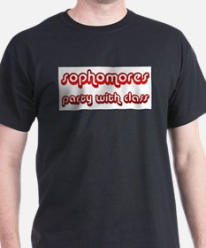 Sophomores Party With Class T-Shirt