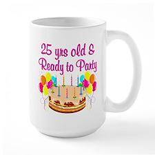 CELEBRATE 25 Mug