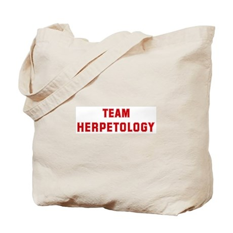 Team HERPETOLOGY Tote Bag