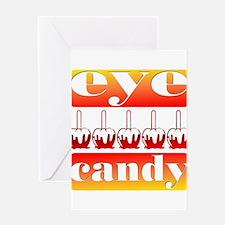 Halloween Eye Candy Greeting Card