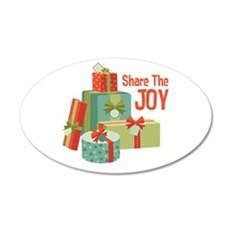 Share The JOY Wall Decal