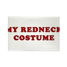 Redneck Costume Rectangle Magnet