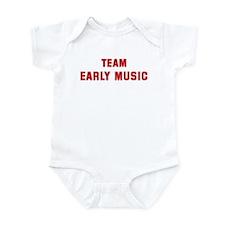 Team EARLY MUSIC Infant Bodysuit