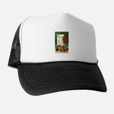 Thanksgiving Vintage Greeting Card Trucker Hat