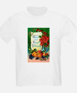 Thanksgiving Vintage Greeting Card T-Shirt