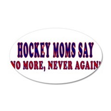 Palin Hockey Moms Wall Decal