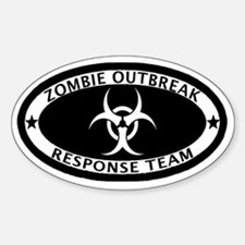Zombie Outbreak Response Team Hitch Decal
