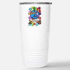 Imagine Peace Symbols Stainless Steel Travel Mug