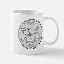 Wisconsin State Quarter Mug