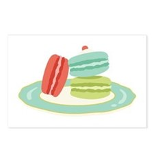 French Macarons Postcards (Package of 8)
