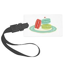 French Macarons Luggage Tag