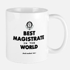 Best Magistrate in the World. Mugs
