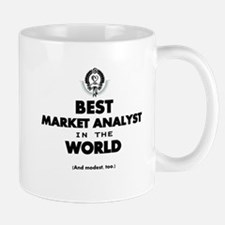 Best Market Analyst in the World Mugs