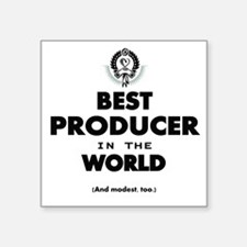 Best Producer in the World Sticker