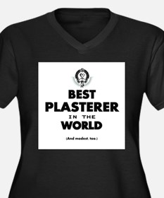 Best Plasterer in the World Plus Size T-Shirt