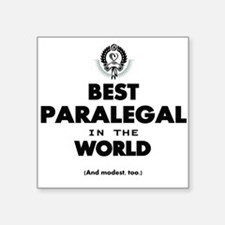 Best Paralegal in the World Sticker