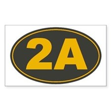 2A Oval Decal