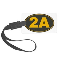 2A Oval Luggage Tag