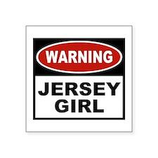 Jersey Girl Rectangle Sticker