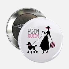 """Fashion Queen 2.25"""" Button"""