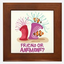 Friend or Anemone? Framed Tile