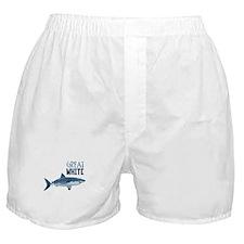 Great White Boxer Shorts