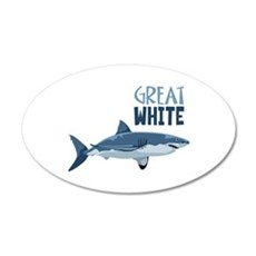 Great White Wall Decal
