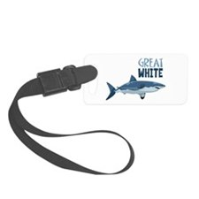 Great White Luggage Tag