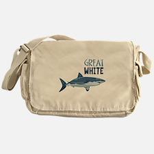Great White Messenger Bag