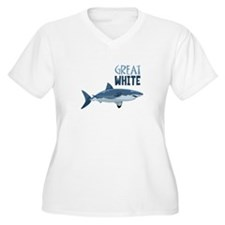 Great White Plus Size T-Shirt