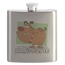 Handsome Dog! Flask