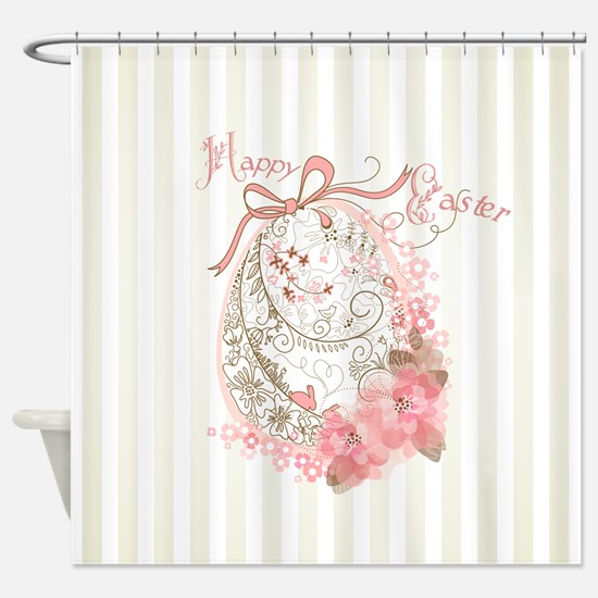 Easter Egg Shower Curtain