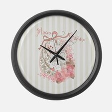 Easter Egg Large Wall Clock