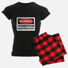 Wine Warning pajamas