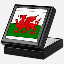 Wales Flag Keepsake Box
