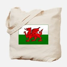Wales Flag Tote Bag