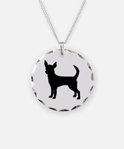 chihuahua 2 Necklace