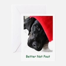 Better Not Pout Greeting Cards (Pk of 10)