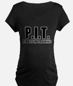 Pirate In Training Maternity T-Shirt