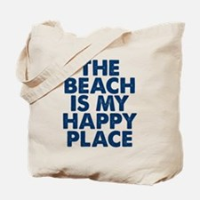 Beach Is My Happy Place Tote Bag