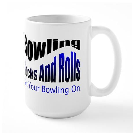 Bowling Rocks And Rolls Mugs