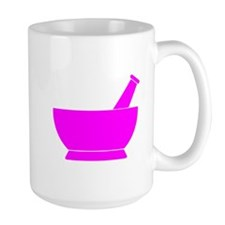 Pink Mortar and Pestle Mug