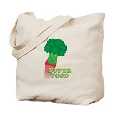 Cute Broccoli Vegetable, Super food Tote Bag