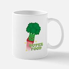Cute Broccoli Vegetable, Super food Mugs