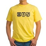 FemaleFemale to Male Yellow T-Shirt