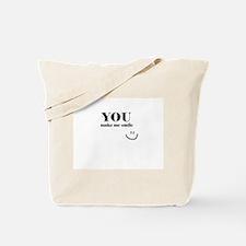 YouMakeMeSmile Tote Bag